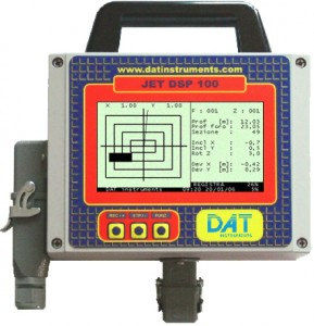 DAT instruments, datalogger for: Jet grouting – Grouting – Cement injection – TAM grouting – Drilling – MWD – CFA – Deep mixing – Soil mixing – Vibroflotation – Diaphragm walls – Lugeon test – Mineral investigation