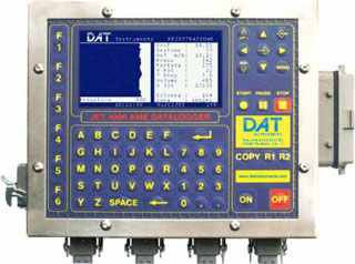 DAT instruments, dataloggers for Jet grouting - Grouting - Cement injection - TAM grouting - Drilling - MWD - CFA - Deep mixing - Soil mixing - Vibroflotation - Diaphragm walls - Lugeon test - Mineral investigation