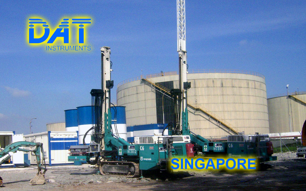 DAT instruments, datalogger for drilling, MWD, jet grouting, soil mixing, deep mixing, CFA, vibroflotation