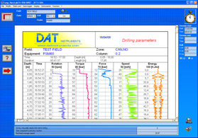 DAT instruments, dataloggers for: Jet grouting - Grouting - Cement injection - TAM grouting - Drilling - MWD - CFA - Deep mixing - Soil mixing - Vibroflotation - Diaphragm walls - Lugeon test - Mineral investigation