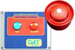 DAT INCL ALARM - Sound/light alarm control panel