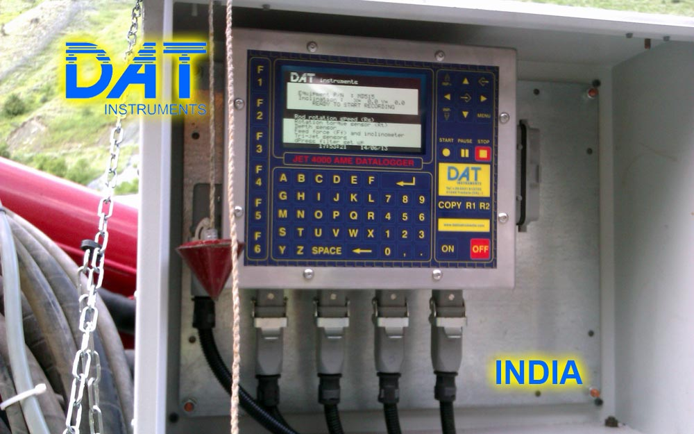 Dat Instruments India Drilling 2013