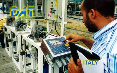 DAT instruments, JET 4000 AME / I, datalogger for grouting, GIN, Italy