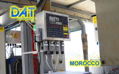 DAT instruments, JET 4000 AME / I, datalogger for grouting, GIN, Morocco