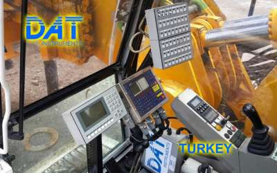 DAT instruments, JET 4000 AME / J, datalogger for Countinuous Flight Auger, Turkey