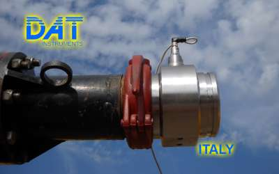 DAT instruments, JET 4000 AME / J, datalogger for Countinuous Flight Auger, concrete pressure, Italy