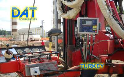 DAT instruments, JET 4000 AME / J, datalogger for drilling, Turkey