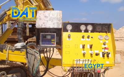 DAT instruments, JET 4000 AME / J, datalogger for jet grouting, Egypt