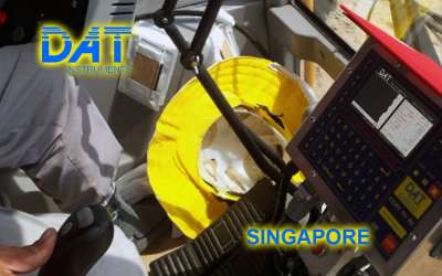 DAT instruments, JET 4000 AME / J, datalogger for vibroflotation, Singapore