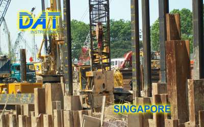 DAT instruments, JET 4000 AME / J, datalogger for vibroflotation with current, Singapore