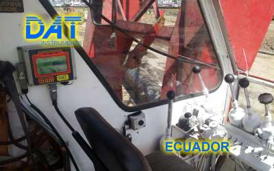 DAT instruments, JET DSP 100 / D, datalogger for diaphragm walls, Ecuador