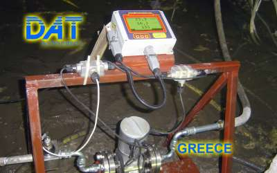DAT instruments, JET DSP 100 / IR, datalogger for grouting, GIN, elettromagnetic flowmeter, Greece
