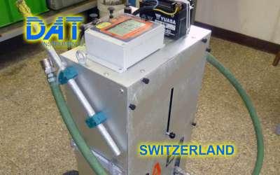 DAT instruments, JET DSP 100 / IR, datalogger for grouting, Switzerland