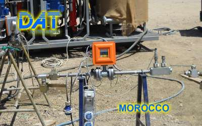 DAT instruments, JET FLOWL, electromagnetic flowmeter sensor, Morocco
