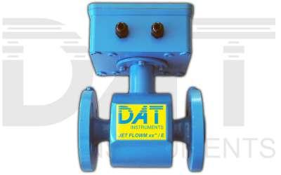 DAT instruments, JET FLOWM xx / E, electromagnetic flow meter