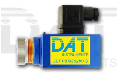 DAT instruments, JET PSTATxxM / S, adjustable pressure switch