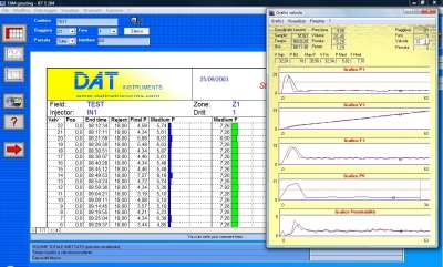 DAT instruments, JET S 104, software for cement injections, TAM grouting, GIN, Lugeon tests