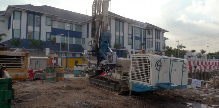 DAT instruments, JET 4000 AME / J, datalogger with project, Drilling
