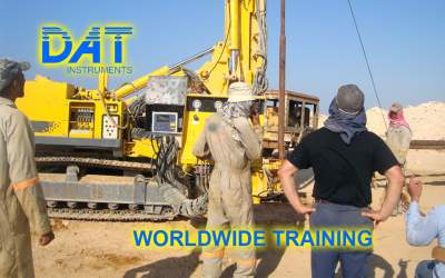 DAT instruments, datalogger, Worldwide training