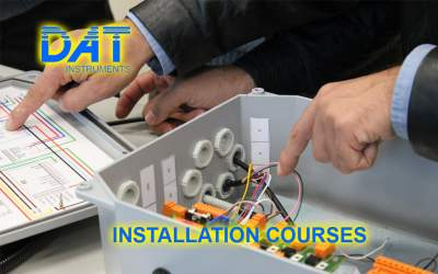 DAT instruments, datalogger for Geotecnics and Special Foundations, installation courses