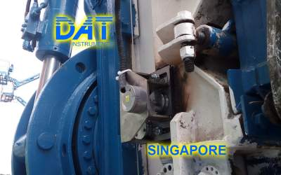 DAT-instruments-Singapore-2018-datalogger-jet-grouting-monofluid-JET-DEPTH-depth-sensor, technical support in field