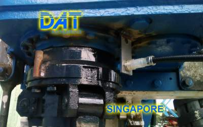 DAT instruments, Singapore 2018, datalogger, monofluid jet grouting, JET ROT, strokecounter, technical support in field
