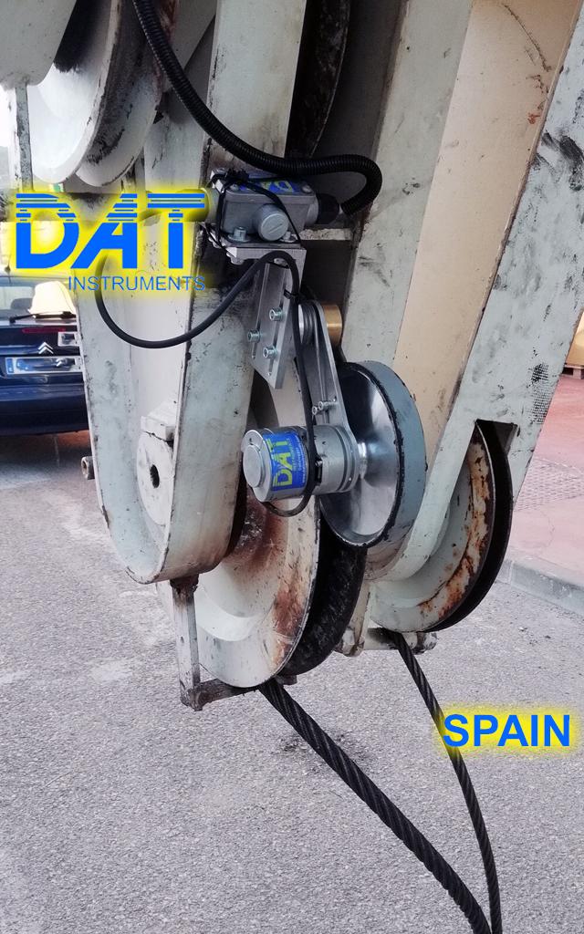 DAT instruments, recorder, computer, JET DEPTH, drill depth sensor, rod thrust speed
