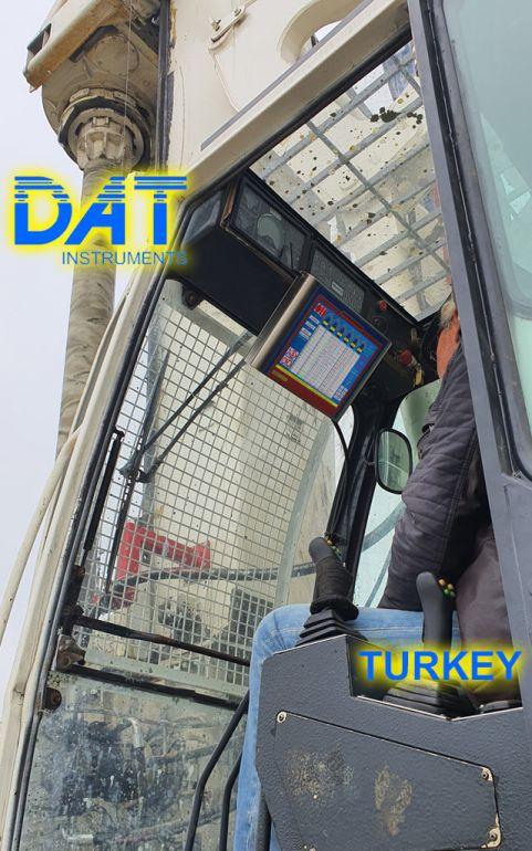DAT instruments, DAT TinyLog, road construction, data recorder, Karasu port, data logger