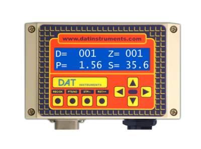 DAT instruments, JET SDP - IB, datalogger para Perforaciónes, DAC test