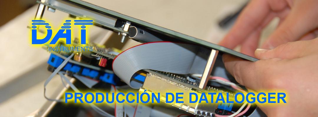 DAT instruments, datalogger, producción, montaje