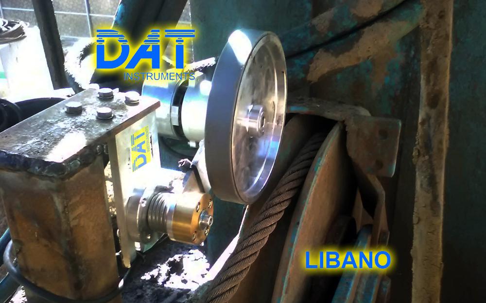DAT instruments, Beirut, Sensor de profundidad JET DEPTH 2, contención subterránea