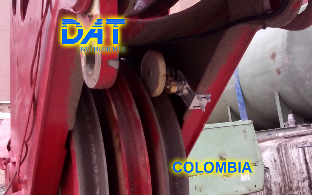 DAT instruments, Colombia, 2014, JET DSP 100 - D, excavación de diafragmas, JET DEPTH 2, sensor de profundidad