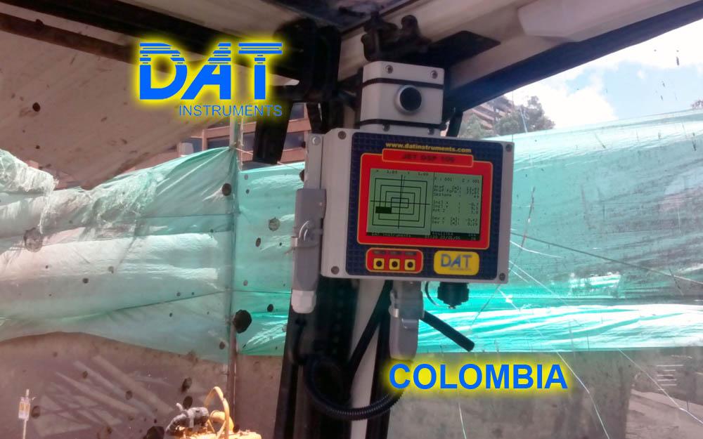 DAT instruments, Colombia, 2014, JET DSP 100 - D, excavación de diafragmas