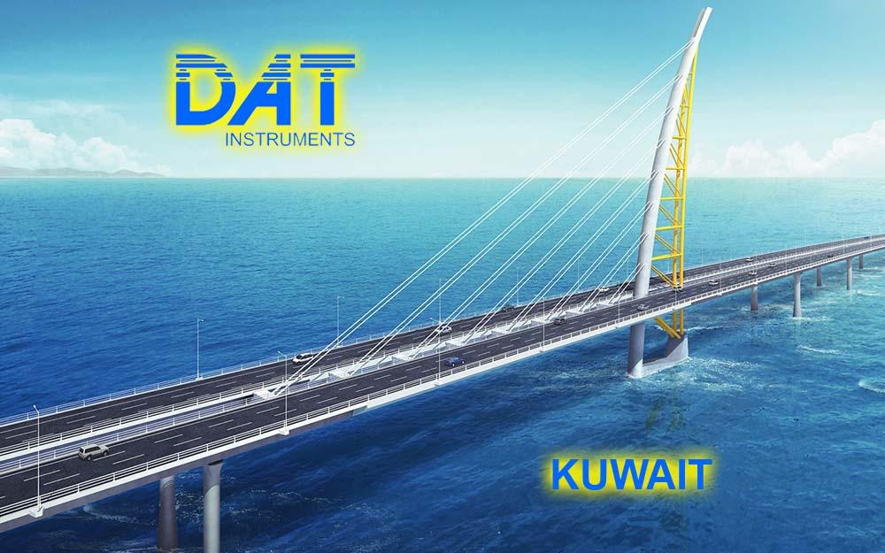 DAT instruments, Kuwait, Sheikh Jaber Al-Ahmad Al-Sabah, JET 4000 AME - J, datalogger para Sand compaction piles (SCP), puente