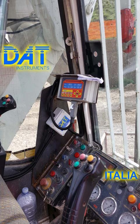 DAT instruments, Italia, JET SDP - J, datalogger, sistema de visualización de datos