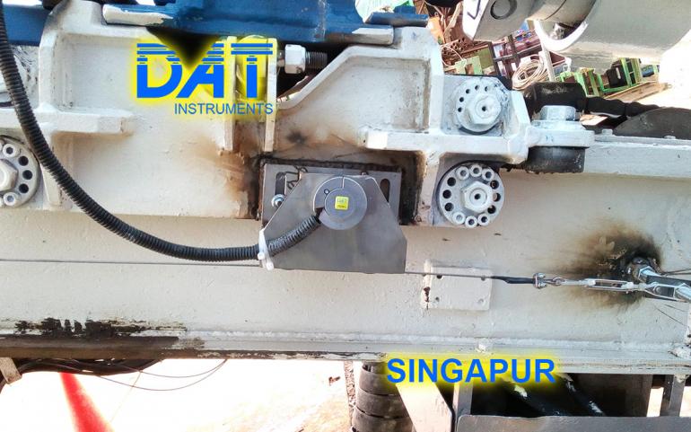 DAT instruments, Singapur 2018, datalogger, jet grouting simple fluido, JET DEPTH, sensor de profundida