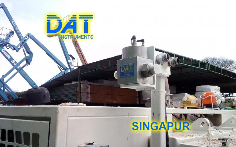 DAT instruments, Singapur 2018, datalogger, jet grouting simple fluido, JET P SEP H, separador hidraulico, asistencia en la obra