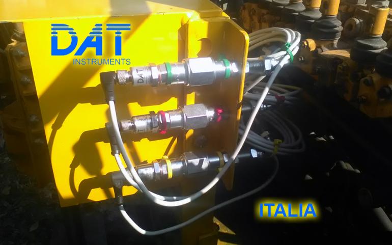 DAT instruments, datalogger, JET SDP IB, estudio de suelo, aire par de rotacion empuje