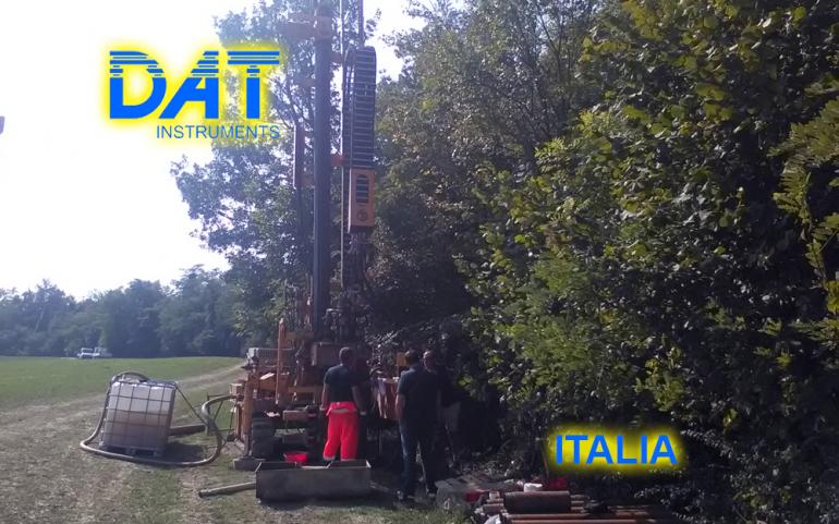 DAT instruments, datalogger, JET SDP IB, estudio de suelo, obra, perforadora
