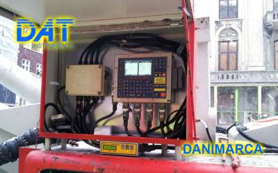 DAT instruments, drilling, jetgrouting, Cityringen, Copenhagen, datalogger