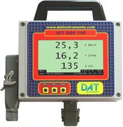 DAT instruments, data logger per iniezioni di cemento - Prove Lugeon - Prove Lefranc