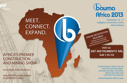BAUMA AFRICA 2013