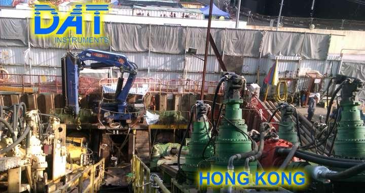 DAT instruments, datalogger, Hong Kong, HDD, horizontal drilling
