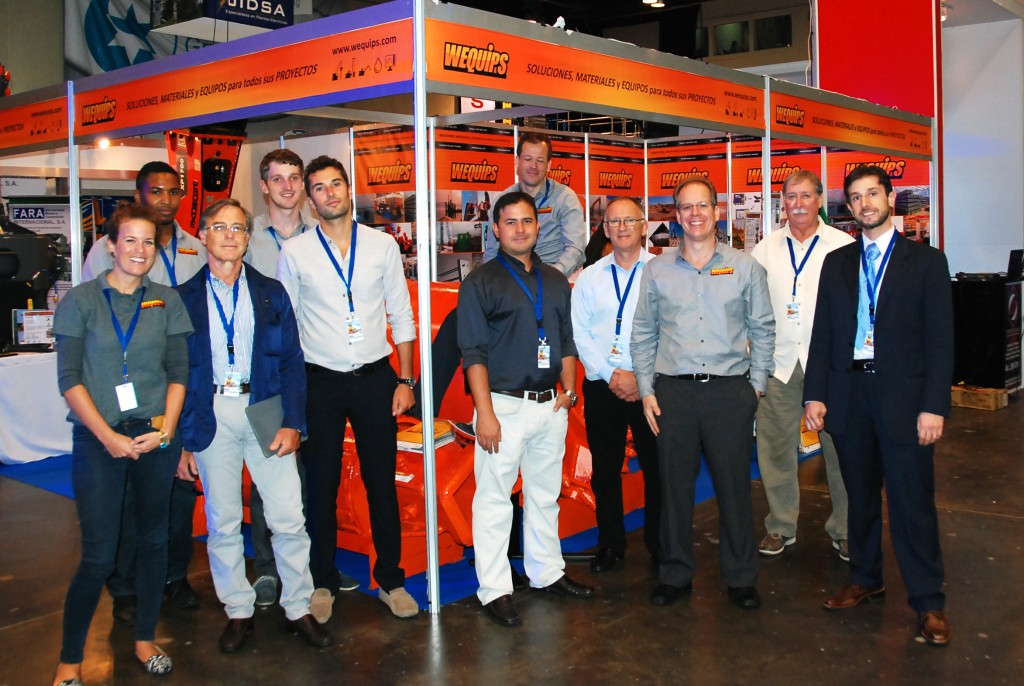 Capac expo habitat, Atlapa convention center, Panama City, DAT instruments, Wequips