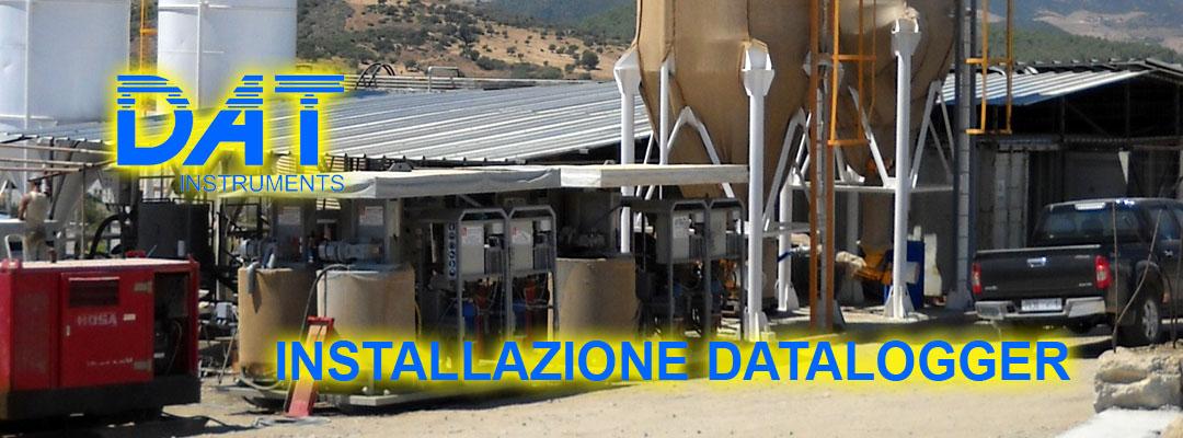 DAT instruments, datalogger, installazione, impianti iniezione