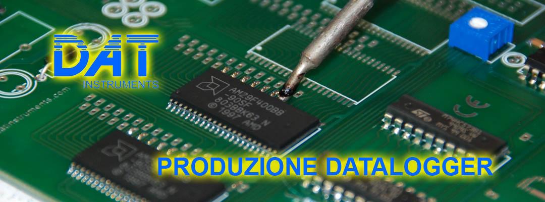 DAT instruments, datalogger, produzione, montaggio scheda elettronica