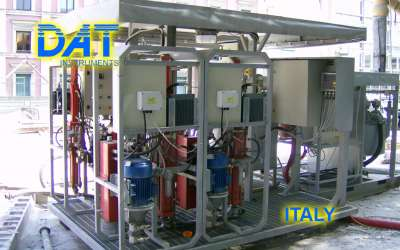 DAT instruments, JET 4000 AME / I, datalogger per Grout Intensity Number, Italia