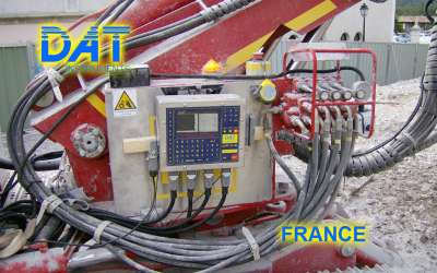 DAT instruments, JET 4000 AME / J, datalogger per DAC test, Francia