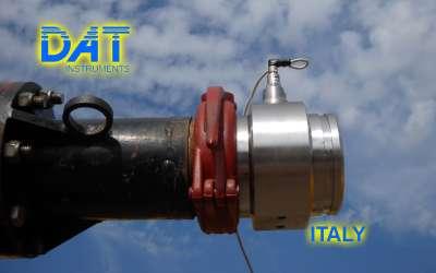 DAT instruments, JET 4000 AME / J, datalogger per pali ad elica continua, pressione del calcestruzzo, Italia