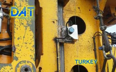 DAT instruments, JET 4000 AME / J, datalogger per pali ad elica continua, sensore di profondità, Turchia